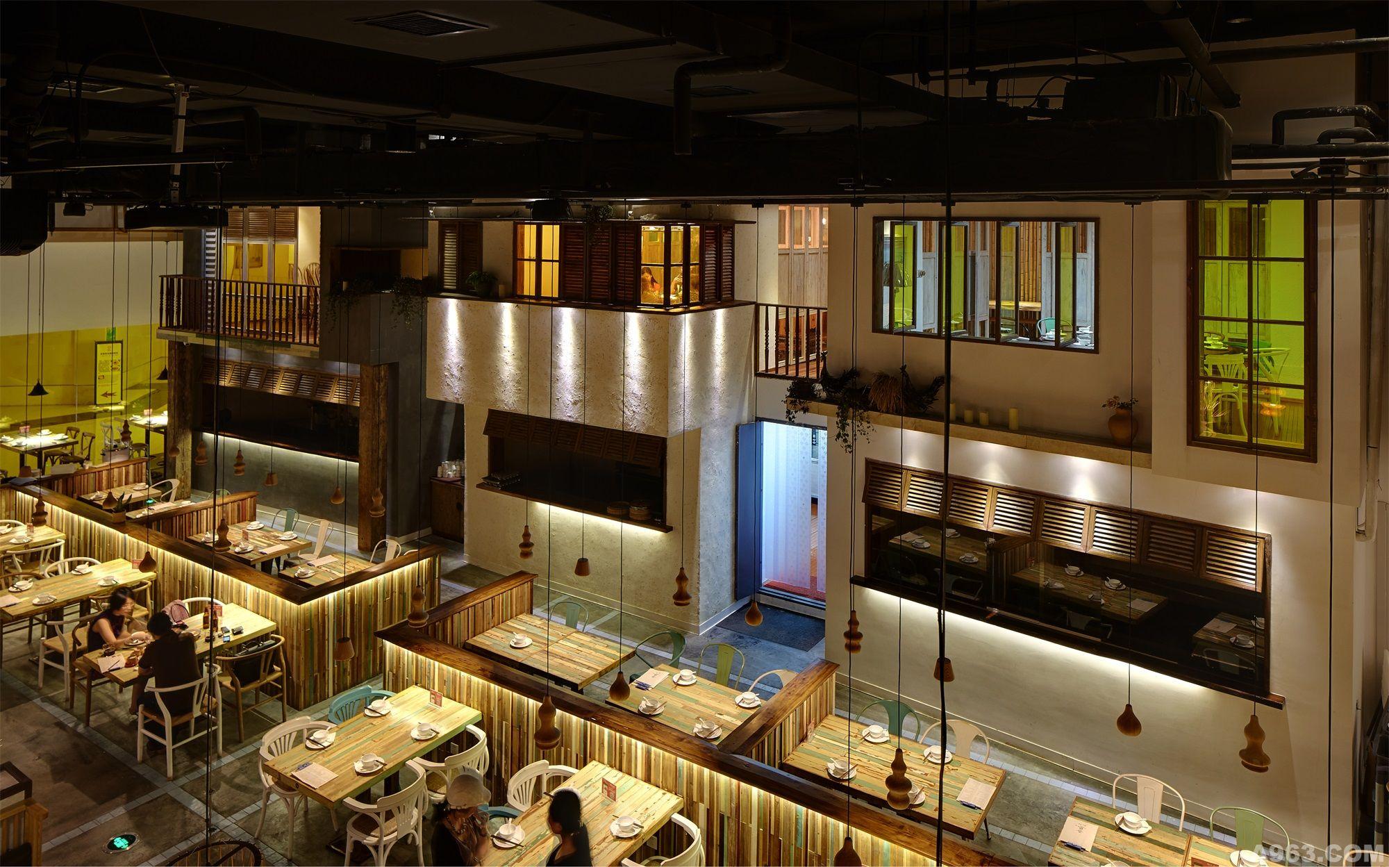 吾岛·融合餐厅 - 餐饮空间 - 第6页 - 朱晓鸣设计