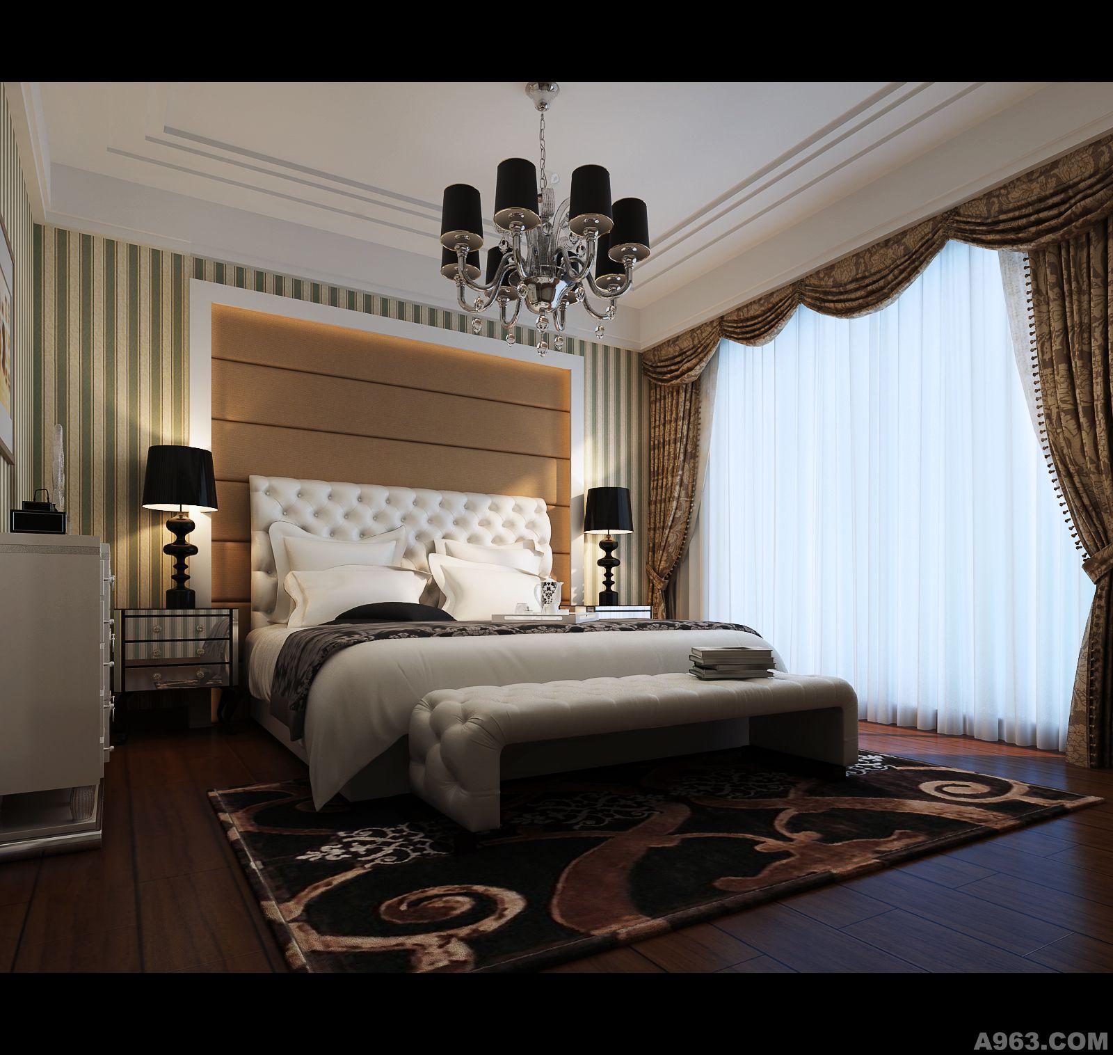 主卧室装修设计图片大全美式