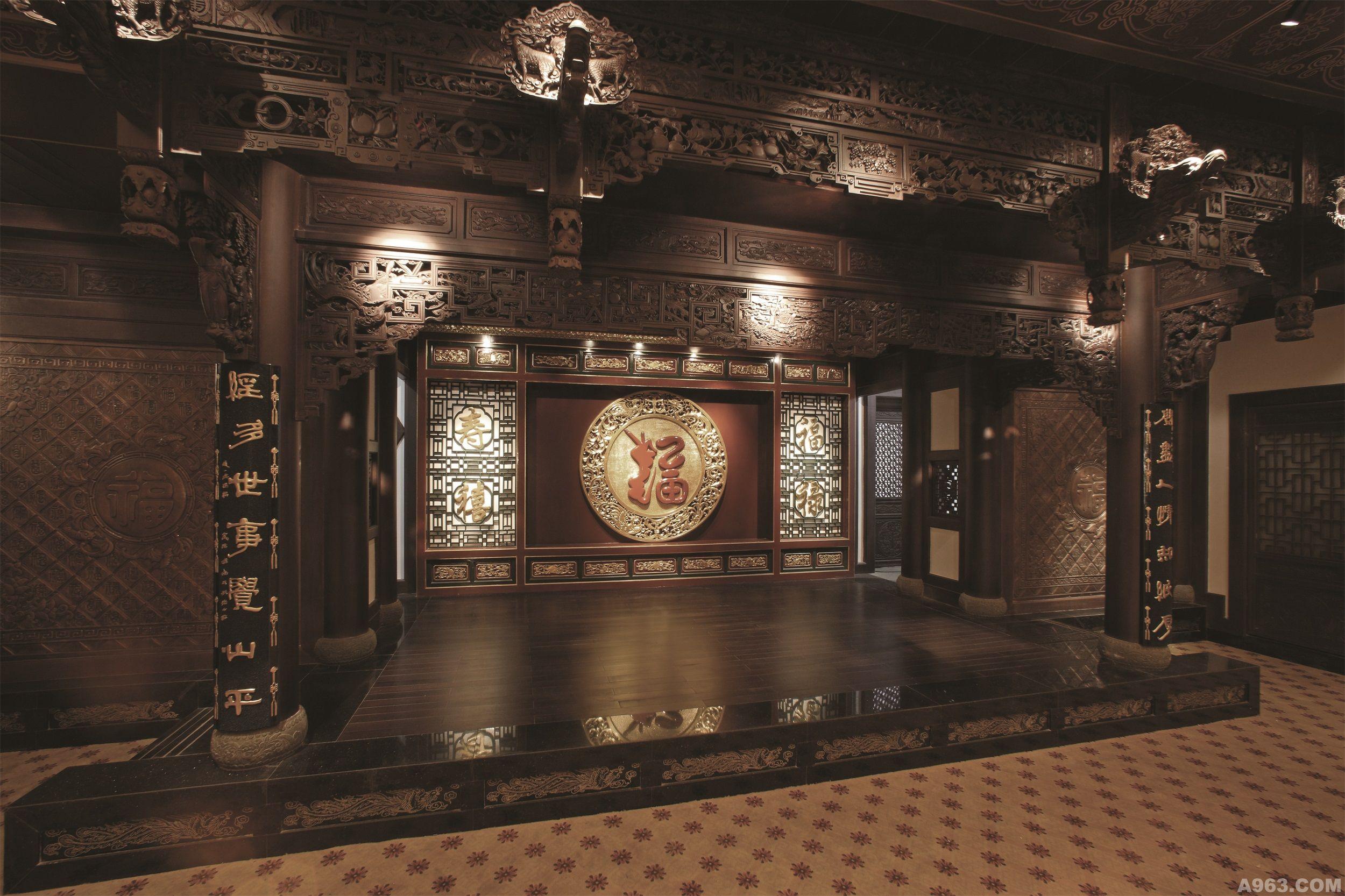 凤临阁 - 文化空间 - 杭州室内设计网_杭州室内设计