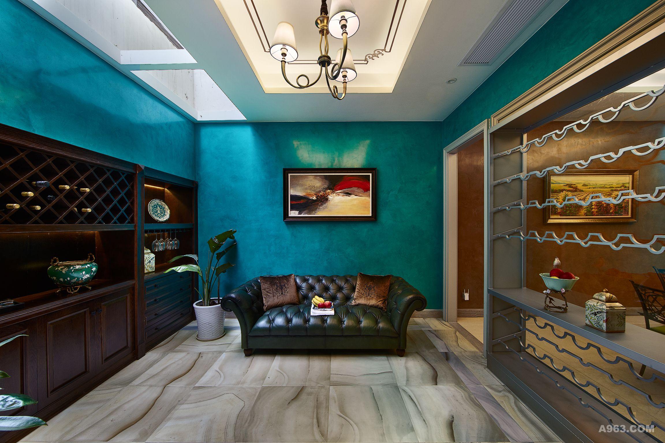 弥尔顿蓝调 - 别墅豪宅 - 第2页 - 茅凤设计作品案例