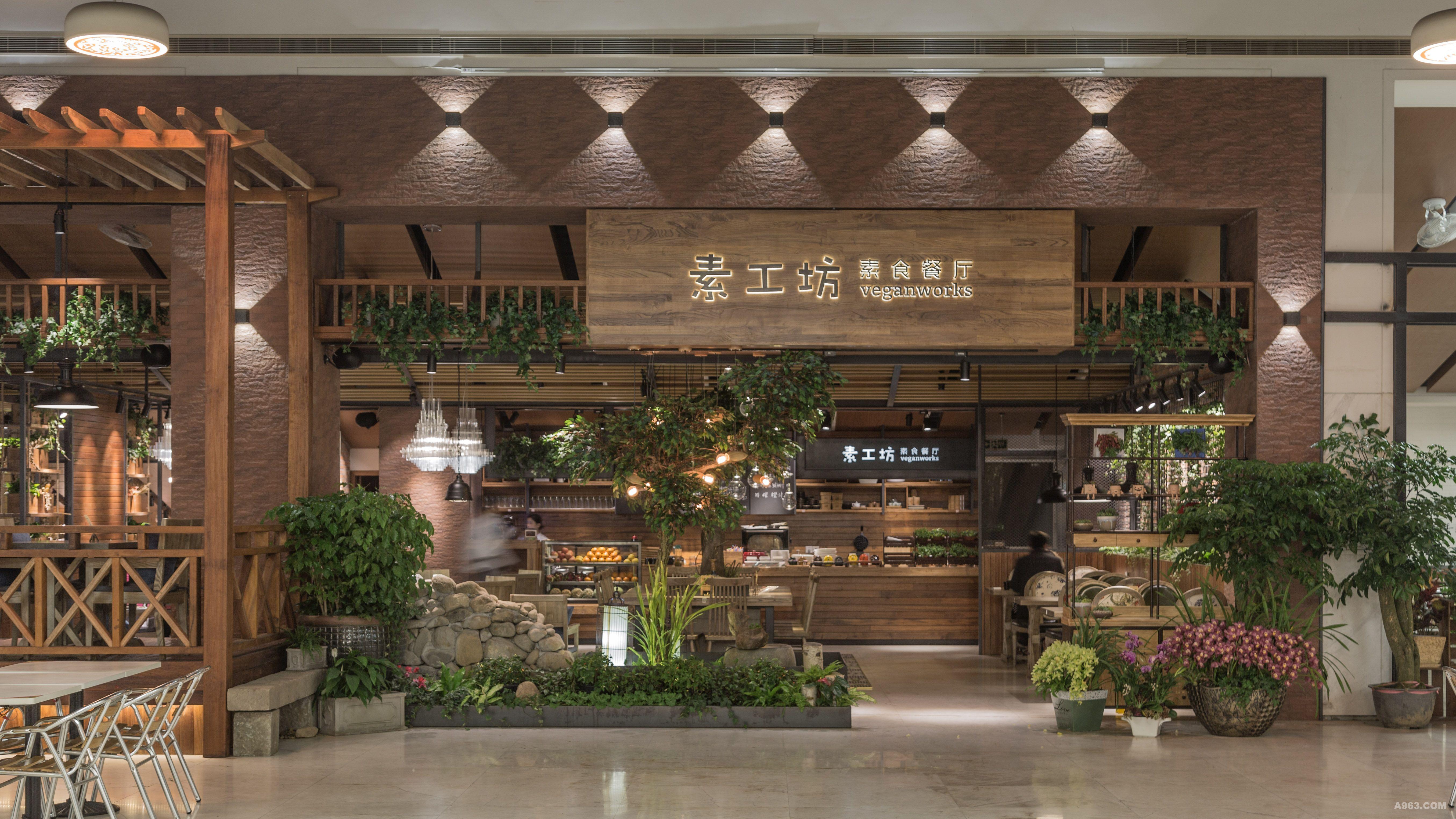 素工坊 - 餐饮空间 - 王志洪设计作品案例