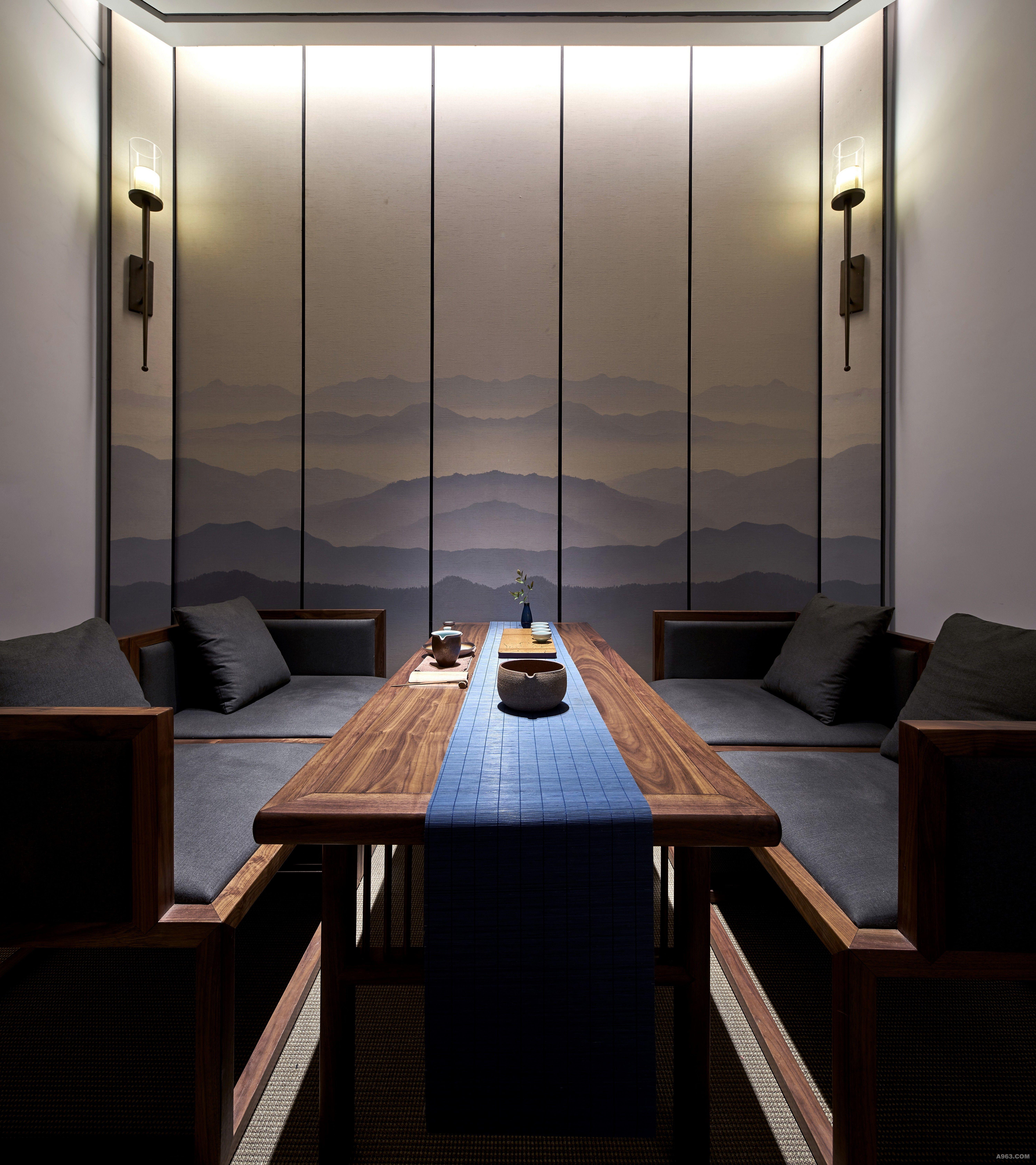 远山- 会所设计 - 彭丽设计作品案例