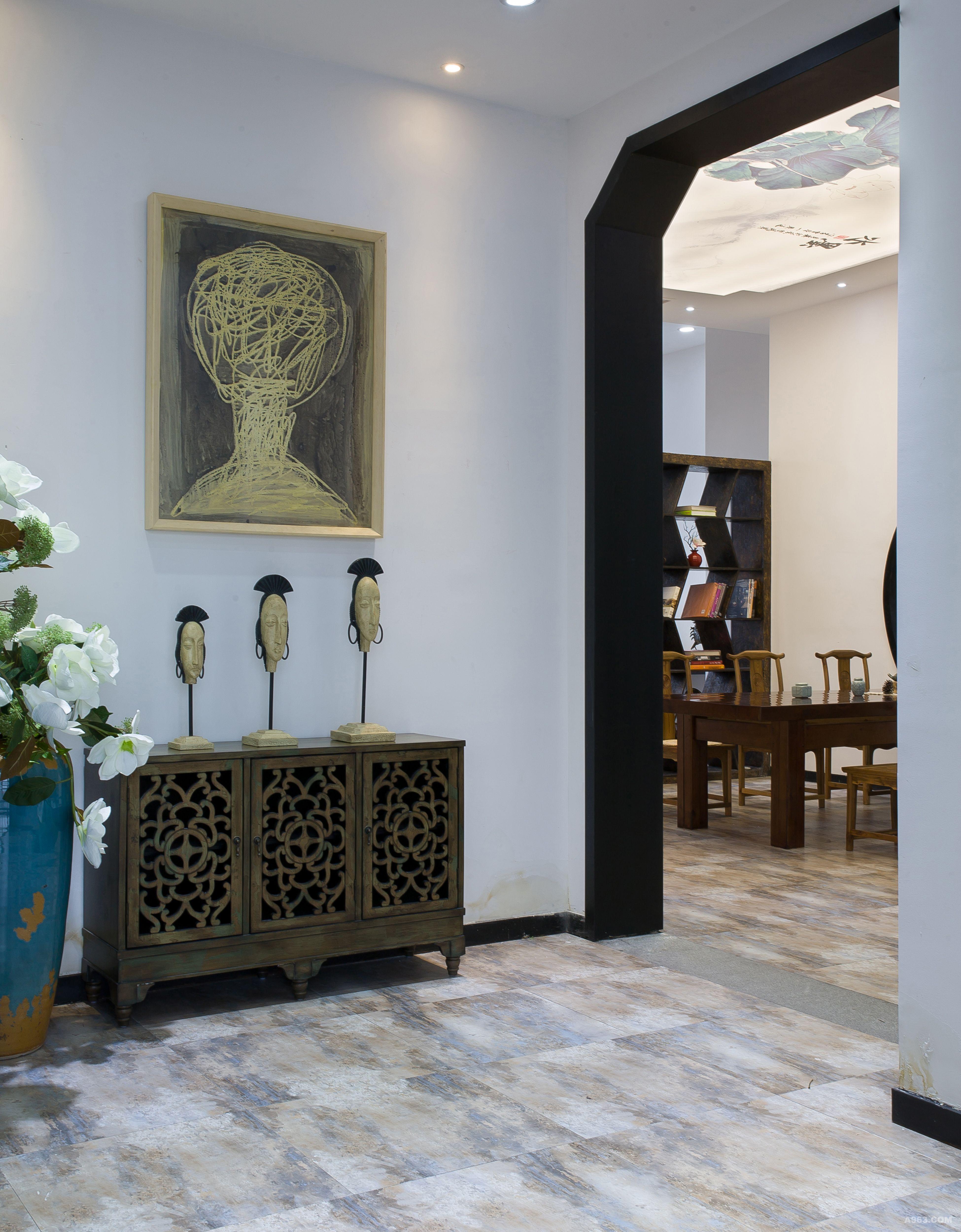 现代中式-沁醉 - 办公空间 - 吴山设计作品案例
